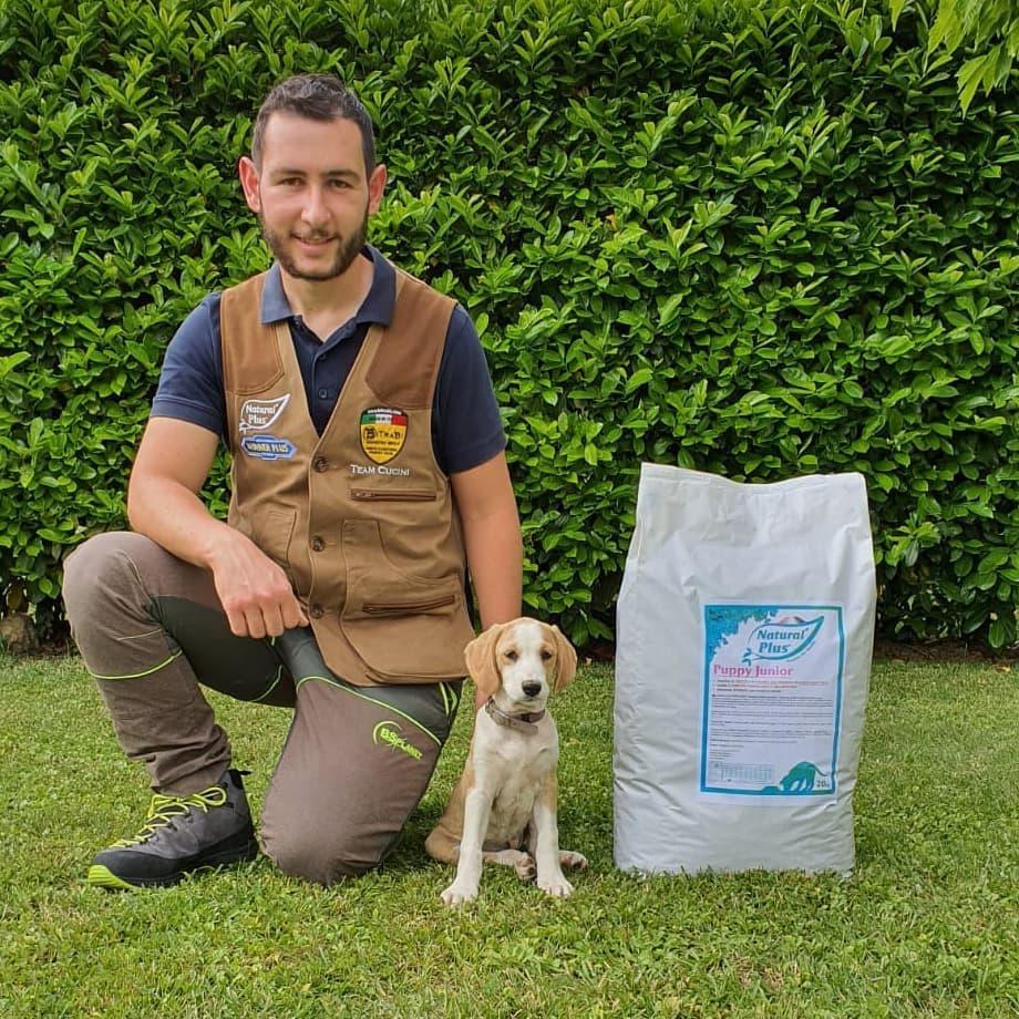 Natural Plus Puppy Junior Cucini