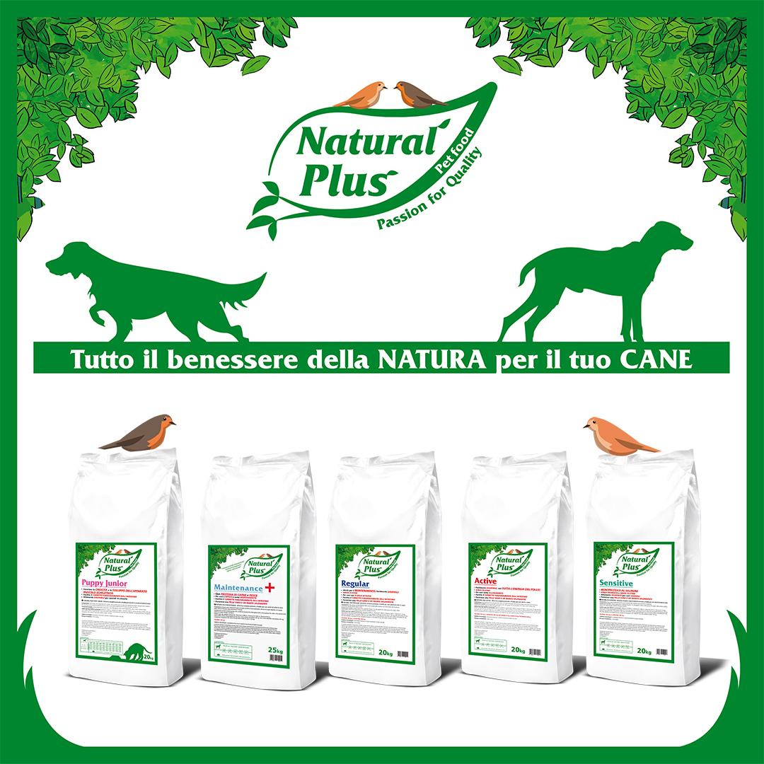 Natural Plus: tutto il benessere della natura per il tuo cane