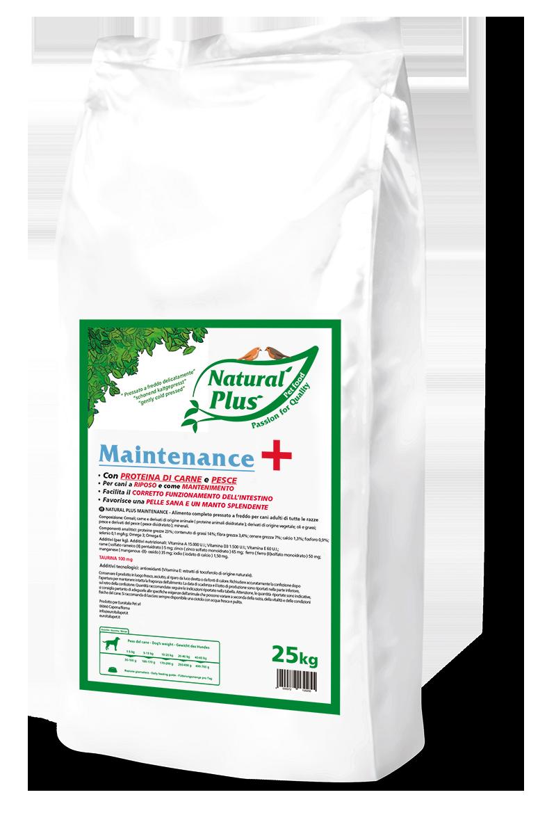 Natural-Plus-Maintenance-PLUS-25kg_sacco bianco